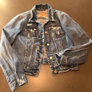 Hollister Distressed Jean Jacket